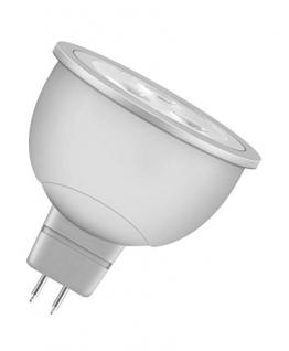 OSRAM LED Reflektor MR16 5, A+, 6W (35W-Ersatz) warmweiß 12V GU5.3 -