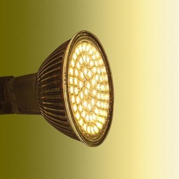 SEBSON LED Lampe GU5.3 / MR16 warmweiß 3.5W, ersetzt 35W Glühlampe, 280 Lumen, 12V DC, Leuchtmittel 110°, 4er Pack -