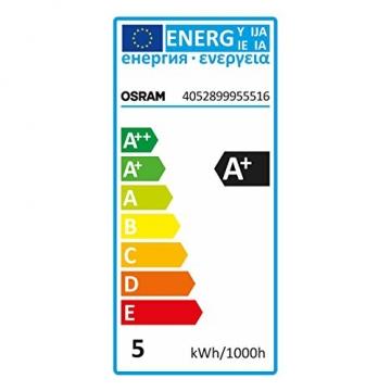 OSRAM LED-Reflektorlampe GU10 BASE PAR16 / 4,8W - 50 Watt-Ersatz, LED-Spot / warmweiß - 2700K / 3er Promo-Pack -